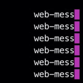 web mess
